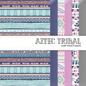Aztec Tribal Vinyl Multi-Pack 6 Sheets 30cm x 30cm for Vinyl Cutters
