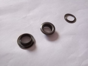 Inton Solid Brass Grommets Eyelets 100 Pack (1cm