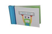 """Baby Photo Album 4 x 6 Brag Book """"Baby Bots"""" - Boy / Girl Baby Shower Gifts, - Holds 24 Precious Photos, Acid-free Pages"""