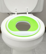 52% OFF (Sale Ends June 15) Potty Seat | Non-Toxic (BPA- & Phthalate-Free) & Safety Certified | Non-Slip Surface | Best Portable Toddler Toilet Training Seat for Kids, Baby Boys & Girls | Green