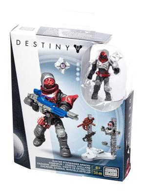 Mega Bloks Destiny Hunter Starwinder Armoury Building Set