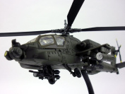 Boeing AH-64 Apache 1/55 Scale Die-cast Metal Helicopter by NewRay