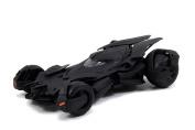 New 1:24 Batman V Superman Movie - Matte Black Batmobile Model Kit Metals Diecast Model Car By Jada Toys