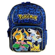 New Arrive Pokemon Pikachu 41cm Full Size School Backpack