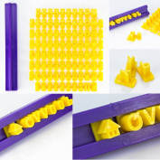 Decorating Tools Stamps Cutter with Letters and Numbers Alphabet Press Set