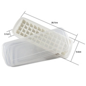 Xf-fly® Creative Convenient Freeze Board Ice Making Mould Ice Trays Box with lids and Grids Ice Blocks Cubes for Cool Drink Summer House Life Kitchen-
