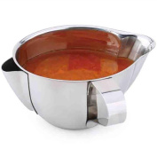 Per Useful Cooking Tools Stainless Steel Kitchen Oil Soup Separator Bowl Gravy Oil Fat Separator Pot with Handle and Mouth