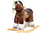 Rocking Horse Brown with sound, 65538