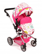 Bayer Chic 2000 – Large YOLO COMBI Doll's Pram 2 in 1, for ages 3 +