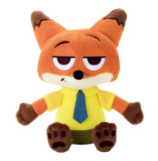 Zootopia Beans Collection Nick Sitting Height 15cm Stuffed Toy