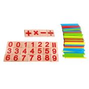Digital Game Sticks Montessori Math Intelligence Educational Preschool Toy