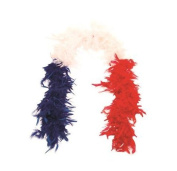 Feather Boa France blue / white / red