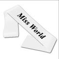 Miss World Sash