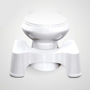 Squatty Potty The Toilet Bathroom Toilet Stool for Better and Healthier Results, Gastroenterologist Recommended