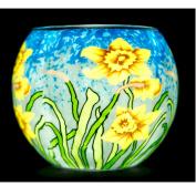 Benaya Sunshine Daffodils Tealight Holder
