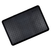 Black Cushioned Ortho Anti-Fatigue Floor Mat Kitchen Work Home Office 60x90cm