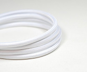 VINTAGE FABRIC LIGHTING CABLE | Pure White | 3 core