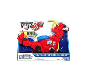 Transformers Rescue Bots Toy - Playskool Heroes - Heatwave The Rescue Dinobot 25cm Action Figure