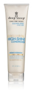 Deep Steep Coconut Oil High Shine Conditioner with Organic Coconut Oil, Sulphate Free, Vegan, Gluten Free, Non GMO, No Parabens or Chemical Preservatives, 100% Natural Ingredients