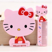 Hello Kitty Cosmetics Mirrors Set Beauty Mirrors Makeup Mirrors With Comb