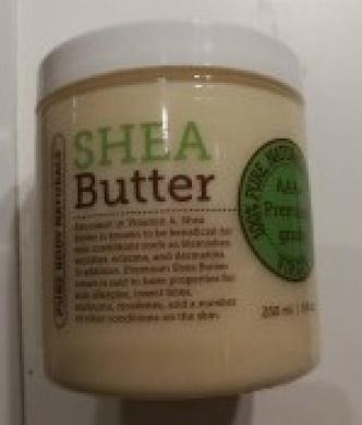 Shea Butter - Premium Quality 250ml (Approximately) Grade A Unrefined Organic Shea Butter