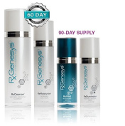 RxGenesys 4 Piece Stem Cell Anti Ageing Beauty System with Hyaluronic Acid by RxGenesys Stem Cell Skin Care