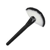 Orangeskycn Makeup Large Fan Goat Hair Blush Face Powder Foundation Cosmetic Brush