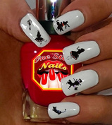 Disney Alice in Wonderland Art Decals. Tattoo Nail Decal Set of 61. AW-001-61 by One Stop Nails