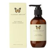 Vanessa Megan Petitgrain Cream Cleanser 200ml Australian-certified Organic 100% Natural