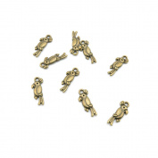 600 Pieces Jewellery Making Charms Findings Antique Bronze Brass Fashion Jewellery Wholesale Supplies Pendant Lots Bulk Supply LU027 Bird Parrot