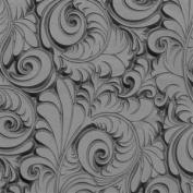 Cool Tools - Flexible Texture Tile - Plume - 10cm X 5.1cm