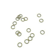1550 Pieces Jewellery Making Charms Findings Antique Bronze Brass Fashion Jewellery Wholesale Supplies Pendant Lots Bulk Supply T5DJ4 Jump Rings 9mm