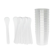 ICE Resin, Mixing Cups & White Stir Sticks, 20 Pack