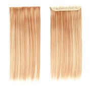 Nefertiti hair Clip In Hair Extensions 60cm 120g 5 clips Long Straight Synthetic Hair Clip in Hair Extension.