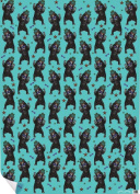 """Chase and Wonder """"Party Bear"""" Rolled Gift Wrap Paper"""