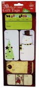 Foil Printed Peel & Stick Gift Tags 20 Pack