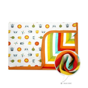 CuteOn Baby/Toddler Girls/Boys Blanket - 02 Little Zoo