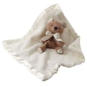 Barefoot Dreams Baby Boys Girls Cream Cozychic Toy Blanket size 38cm x 17