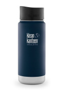 Klean Kanteen Wide Insulated Stainless Steel Water Bottle with Cafe Cap 2.0