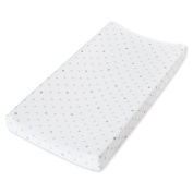 aden by aden + anais changing pad cover, dove
