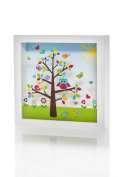 Marmelada Happy Birds Story In a Frame Nightlight Baby Nursery Room Bedtime Lamp