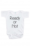 Ready or Not Pregnancy Announcement Onepiece 0-3 Months
