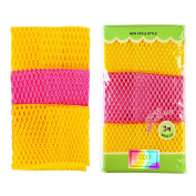 Dish Washing Cloths (28cm by 28cm ) Sponges Scrubber for Odour Free - Quick Dry, Multi Purpose Scrubbing - High Quality Scrub Scourer Pads
