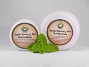Organic Rosemary Mint Shaving Cream
