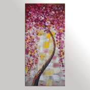 Flower Tree Painting, Wedding Gift, Canvas Art, Canvas Painting, Large Art, Abstract Wall Art, Modern Art, Original Painting, Large Wall Art, Abstract Painting, Abstract Art, Canvas Wall Art
