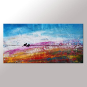 Love Birds Painting, Modern Art, Canvas Art, Wedding Gift, Abstract Wall Art, Canvas Painting, Large Art, Original Painting, Large Wall Art, Abstract Painting, Abstract Art, Canvas Wall Art