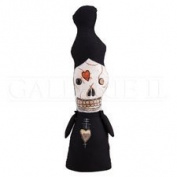 Madame Macabre Monster Halloween Fabric Figure, 36cm .