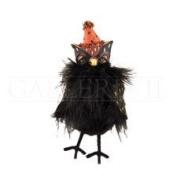 Ully Owl Fabric/Resin Halloween Figure, 13cm .
