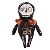 Bones Skeleton Fabric/Resin Halloween Figure, 16cm .