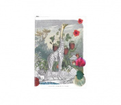 "Christian LaCroix Wild Nature A6 6"" X 4.25"" Softcover Notebook"
